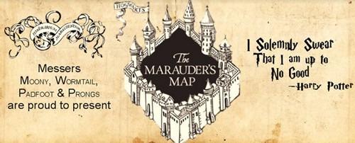 taza mágica harry potter mapa merodeador modelo 2