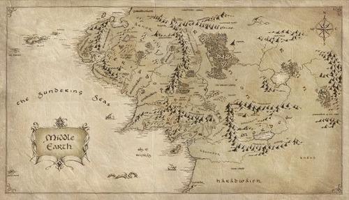 taza mágica mapa tierra media