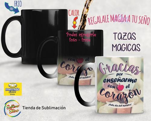 taza magica personalizada regalo original