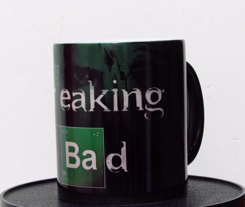 taza magica personalizada series breaking bad twd (consulte)