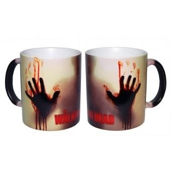 taza mágica the walking dead