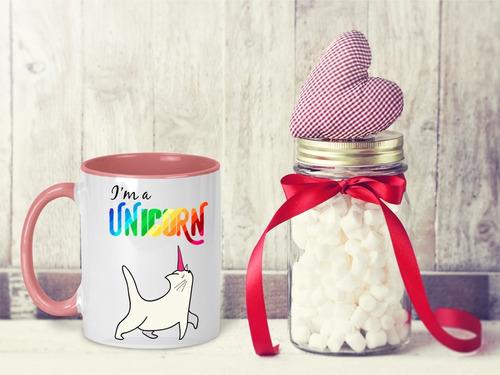 taza magica unicornio agrega nombre gratis m- 24