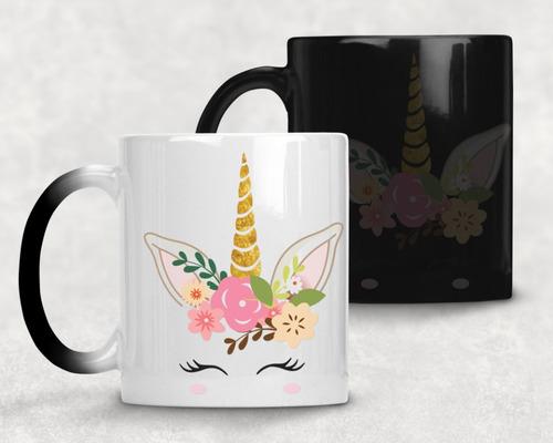 taza magica unicornio agrega nombre gratis m- 35