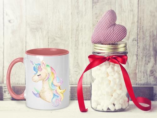 taza magica unicornio agrega nombre gratis m- 38