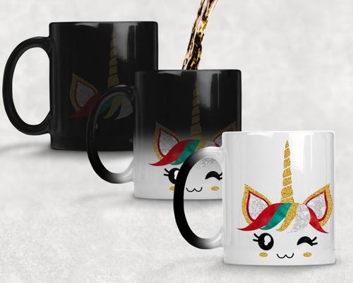 taza magica unicornio agrega nombre gratis m- 54