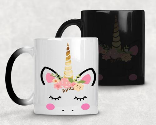 taza magica unicornio agrega nombre gratis m- 65