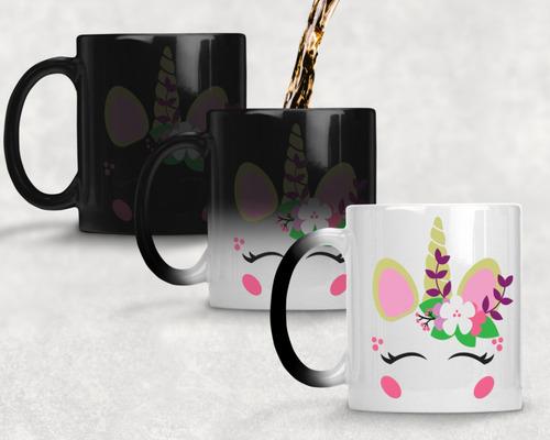 taza magica unicornio agrega nombre gratis m- 7