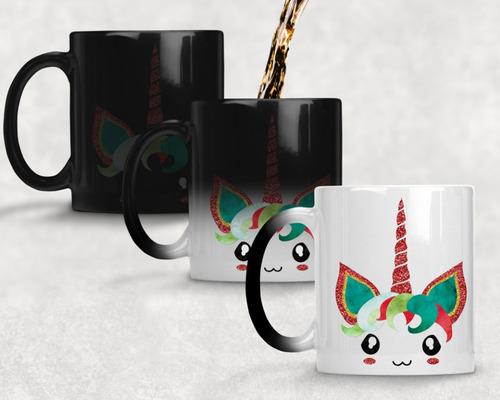 taza magica unicornio agrega nombre gratis m- 9