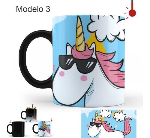 taza mágica unicornio varios modelos