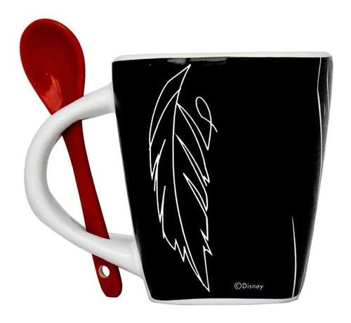 taza maléfica con cuchara