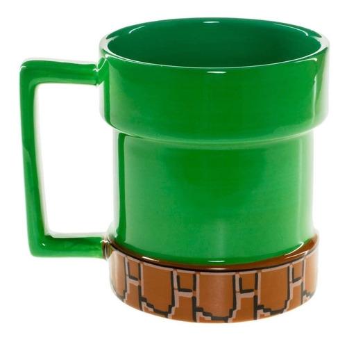 taza mario bros tubo