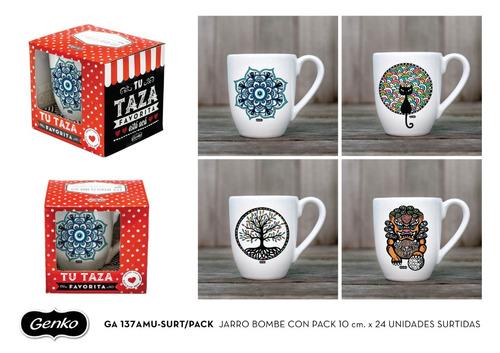 taza mug ceramica genko envio gratis mayorista 24 unidades