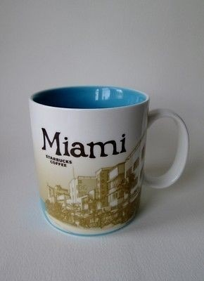 Starbucks Taza 2011 Mug Miami Oferta Única IH29WbEeYD