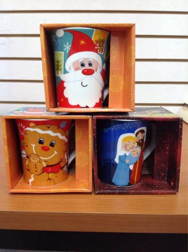 taza navideña varios modelos