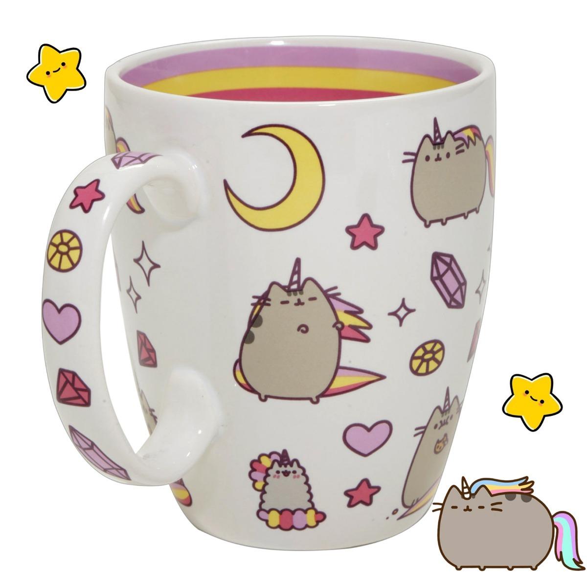 Resultado de imagen de taza pusheen unicornio
