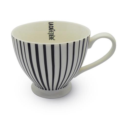 taza para café lineas de la cafetiere