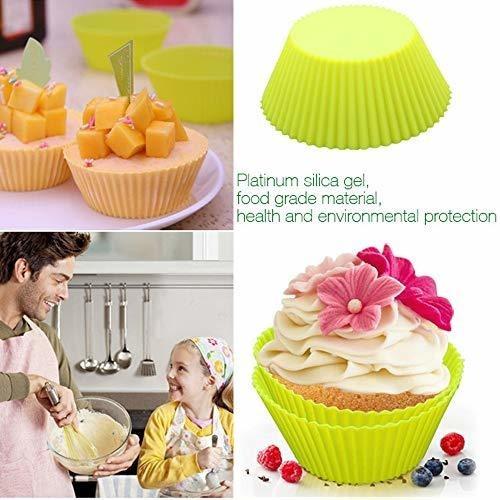 taza para hornear pastel de silicona yassun, bandeja para ho