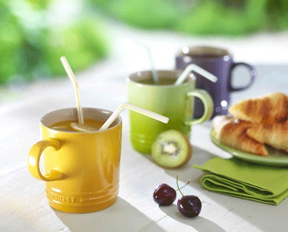 taza p/café espresso mostaza marca le creuset