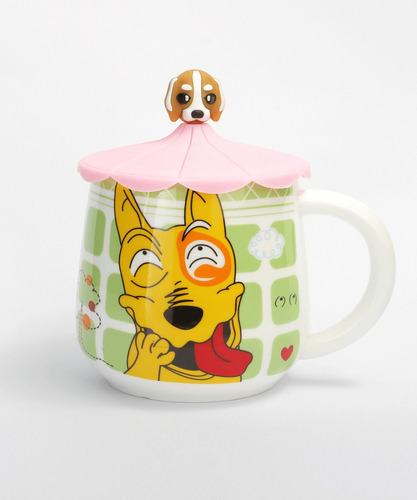 taza perrito c/tapa - dog mug
