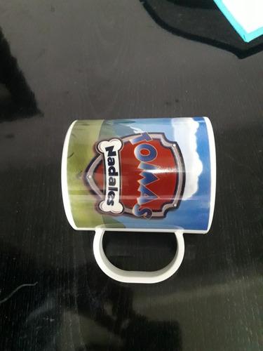 taza plástica irrompible apta microondas personalizada!!!