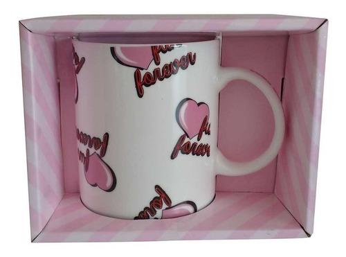 taza porcelana en caja como quieres que te quiera