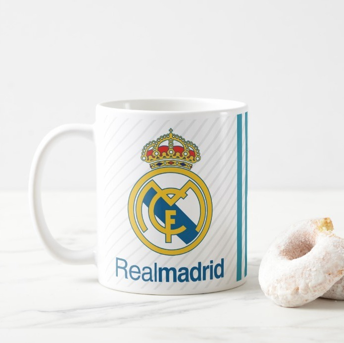 cad1dcb43a584 Taza Real Madrid 2017-18 Personalizada -   75.00 en Mercado Libre