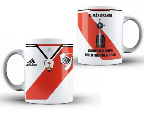taza river- campeon copa libertadores 2018 - regalo papá