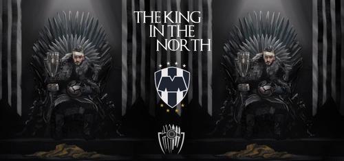 taza sublimada nico sánchez / el rey del norte / rayados