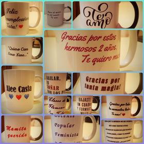 Taza Sublimada Personalizada Regalo Fotos Imagen Frases