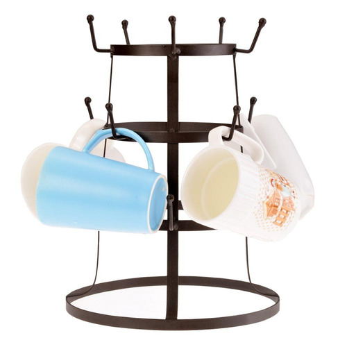taza/ taza de cristal botella organizador arbol soporte rack