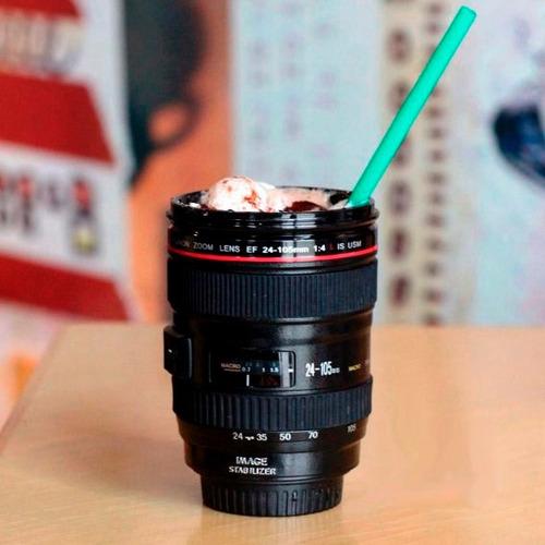 taza termo de lente de cámara canon 24-105mm - envío gratis!