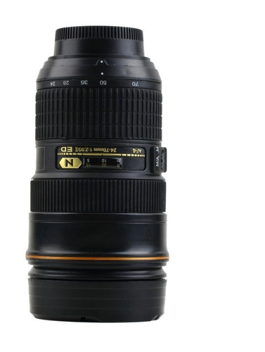 taza termo en forma de lente  24-70 mm con zoom