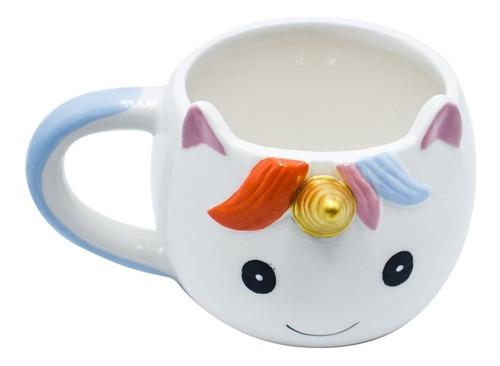 taza unicornio caramelo