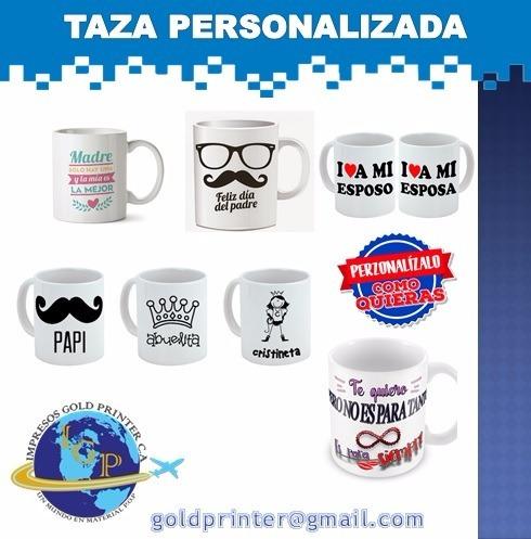 tazas blancas personalizadas