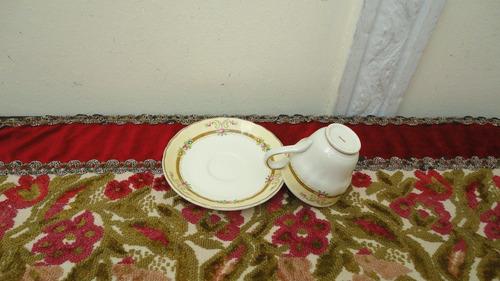tazas cafe inglesas antiguas diseño floral divinas miralas
