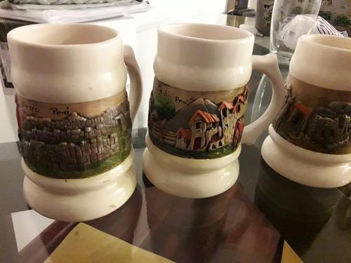 tazas cerveza decorativas peru nuevas