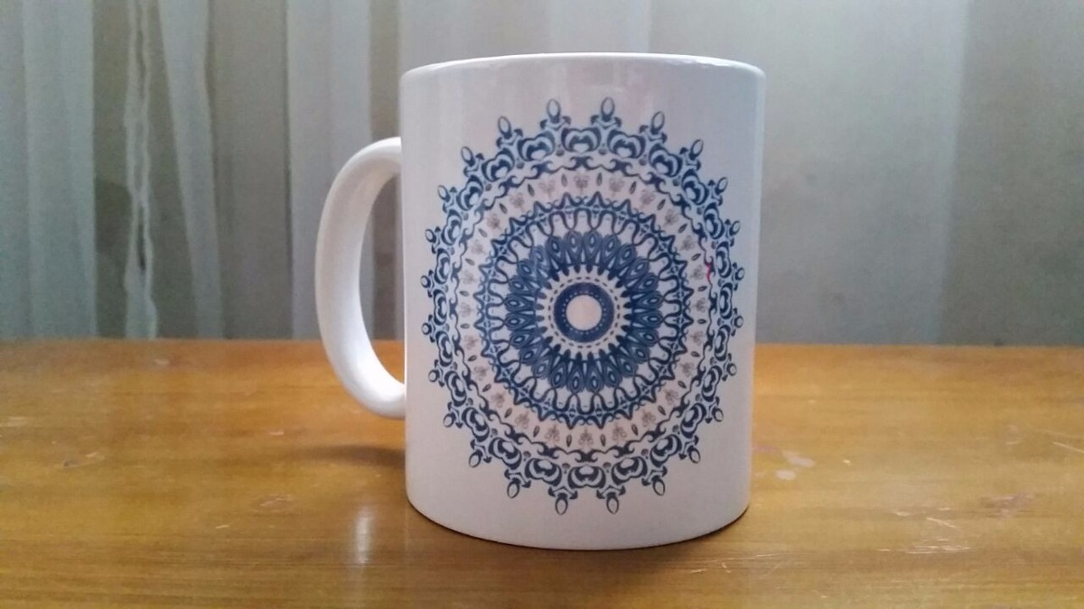 tazas con dise os de mandala 150 00 en mercado libre On tazas con diseno