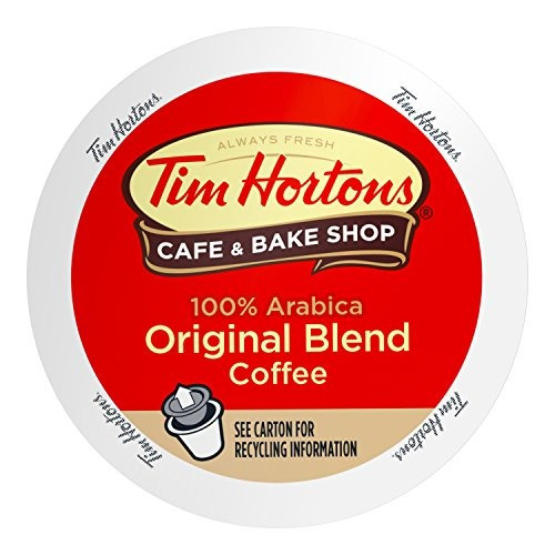 tazas de café individuales de tim horton, asado mediano, 80