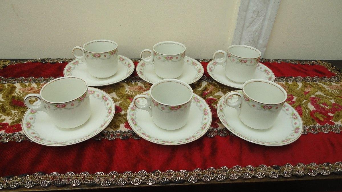 Tazas de cafe inglesas decorada con flores impecables for Tazas de te inglesas