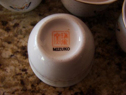 tazas de cafe tipo shots 6 unidaes hecho en japon