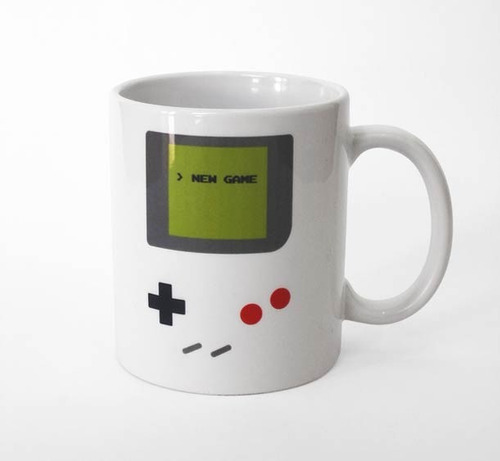 tazas de cerámica gameboy de nintendo