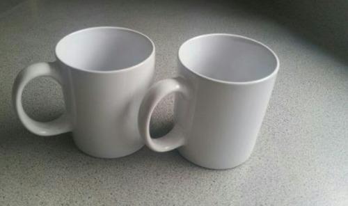 tazas de cerámica para manualidades.