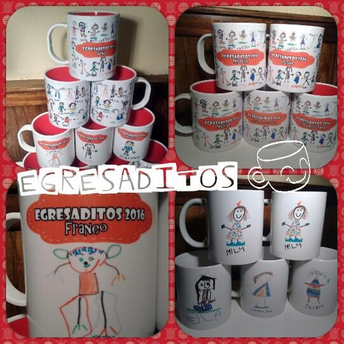 tazas de egresados, egresaditos, souvenirs