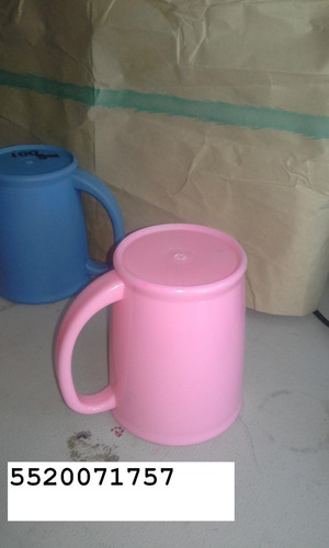 tazas de plastico