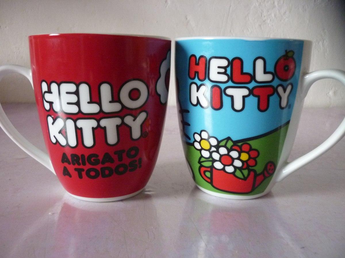 Tazas de porcelana originales de hello kitty en for Tazas de porcelana
