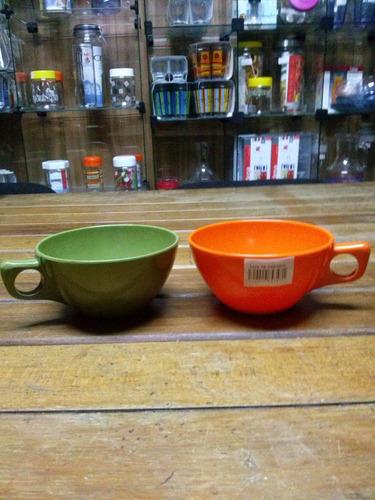 tazas de té x 6 de melamina excelente calidad!!!