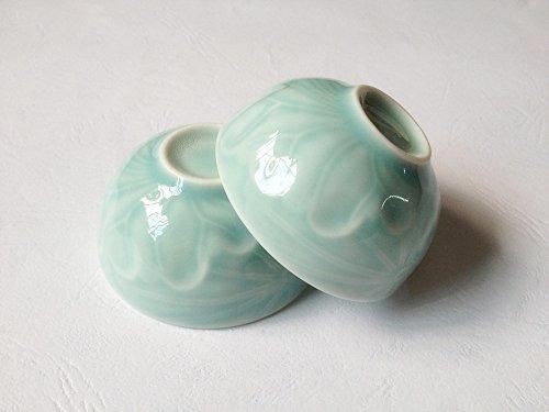 tazas de té,grado superior china celadon taza de té conj..