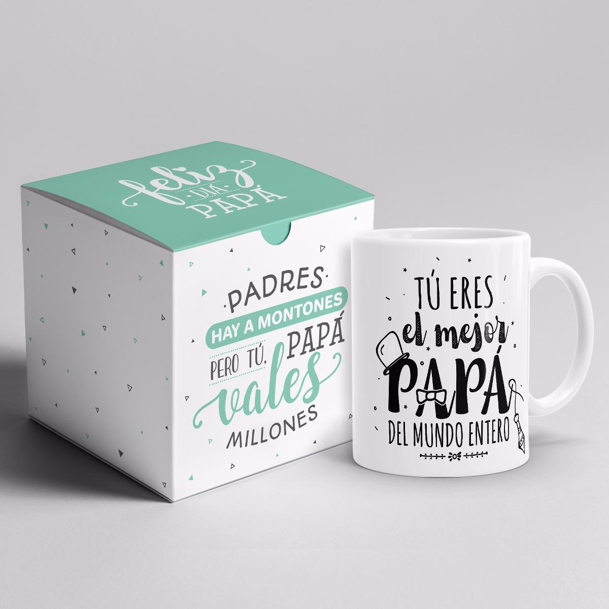 7b6d43c7fd26 tazas dia del padre + cajita regalo original ¡las mejores! Cargando zoom.