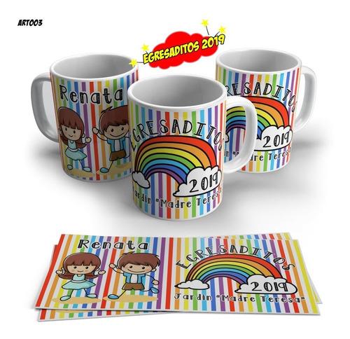 tazas egresaditos souvenir plasticas sublimadas