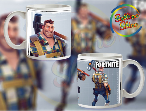 tazas fornite plasticas personalizadas ideal souvenirs